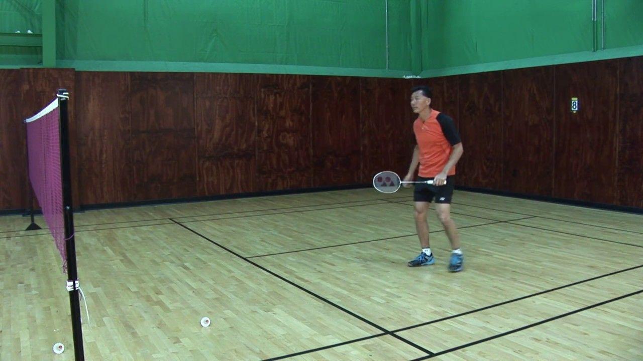Badminton Tips Smash And Defense Drill Coach Andy Chong Badminton Tips Badminton Badminton Drills