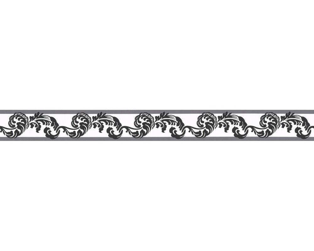 a s creation bord re 904317 schwarz wei grau barock ornament rubi as pinterest. Black Bedroom Furniture Sets. Home Design Ideas