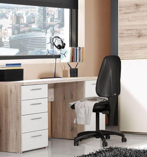 schreibtisch barbara passend zum kinder und jugendprogramm barbara 1 x schreibtisch mit 1 t re. Black Bedroom Furniture Sets. Home Design Ideas