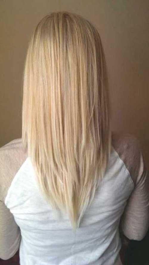 Hairstyle For Medium Hair 12Vshapehaircut 500×886  Braids  Pinterest  Haircuts