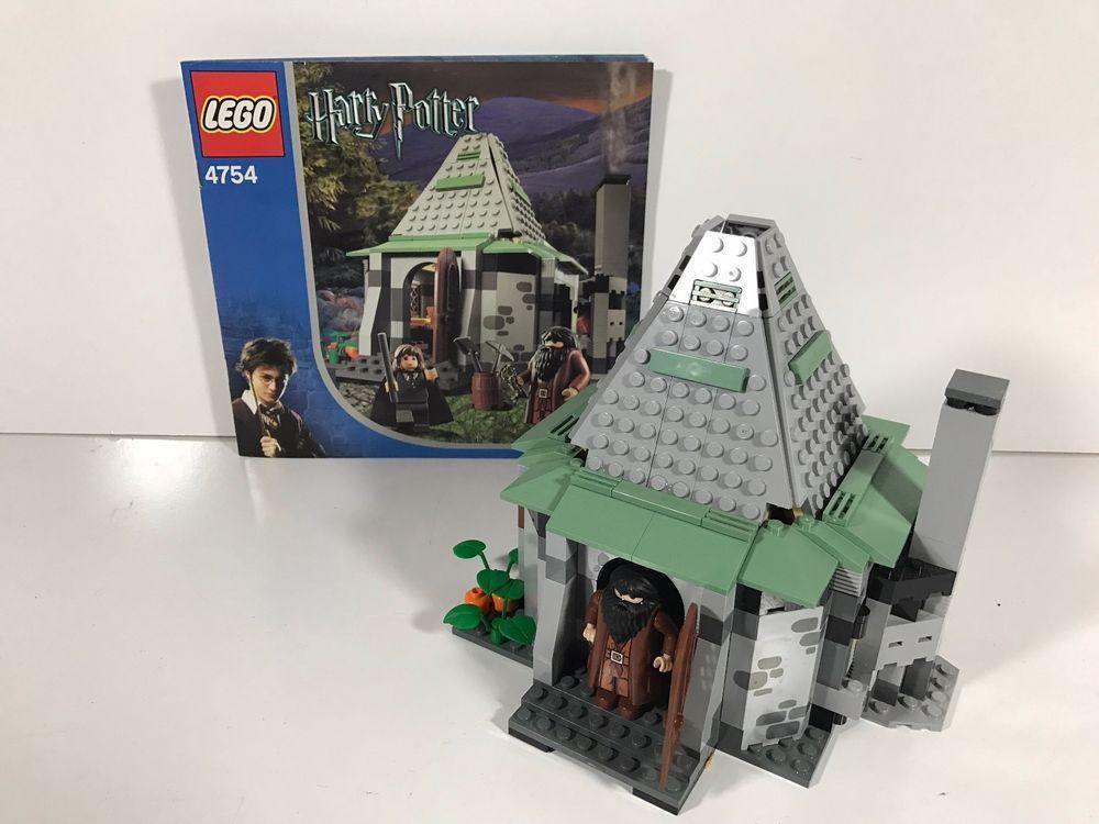 LEGO Harry Potter Lego Set #4754 Hagrid's Hut 2nd Edition 100 ...