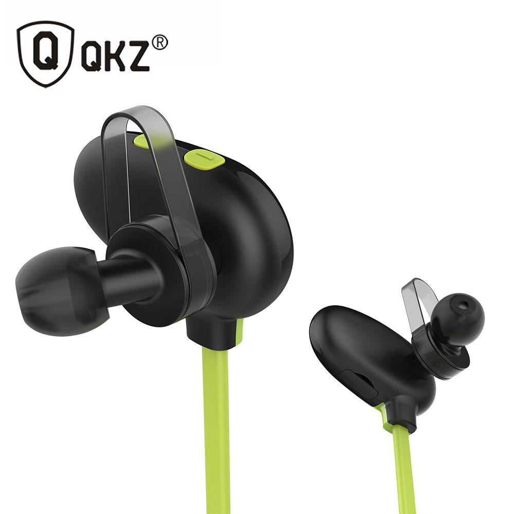 Earphones Qkz Qg9 Wireless Bluetooth Headset Waterproof In Ear Noise Cancelling Bluetooth Earphone For Smartph Bluetooth Earphones Bluetooth Headset Headphones