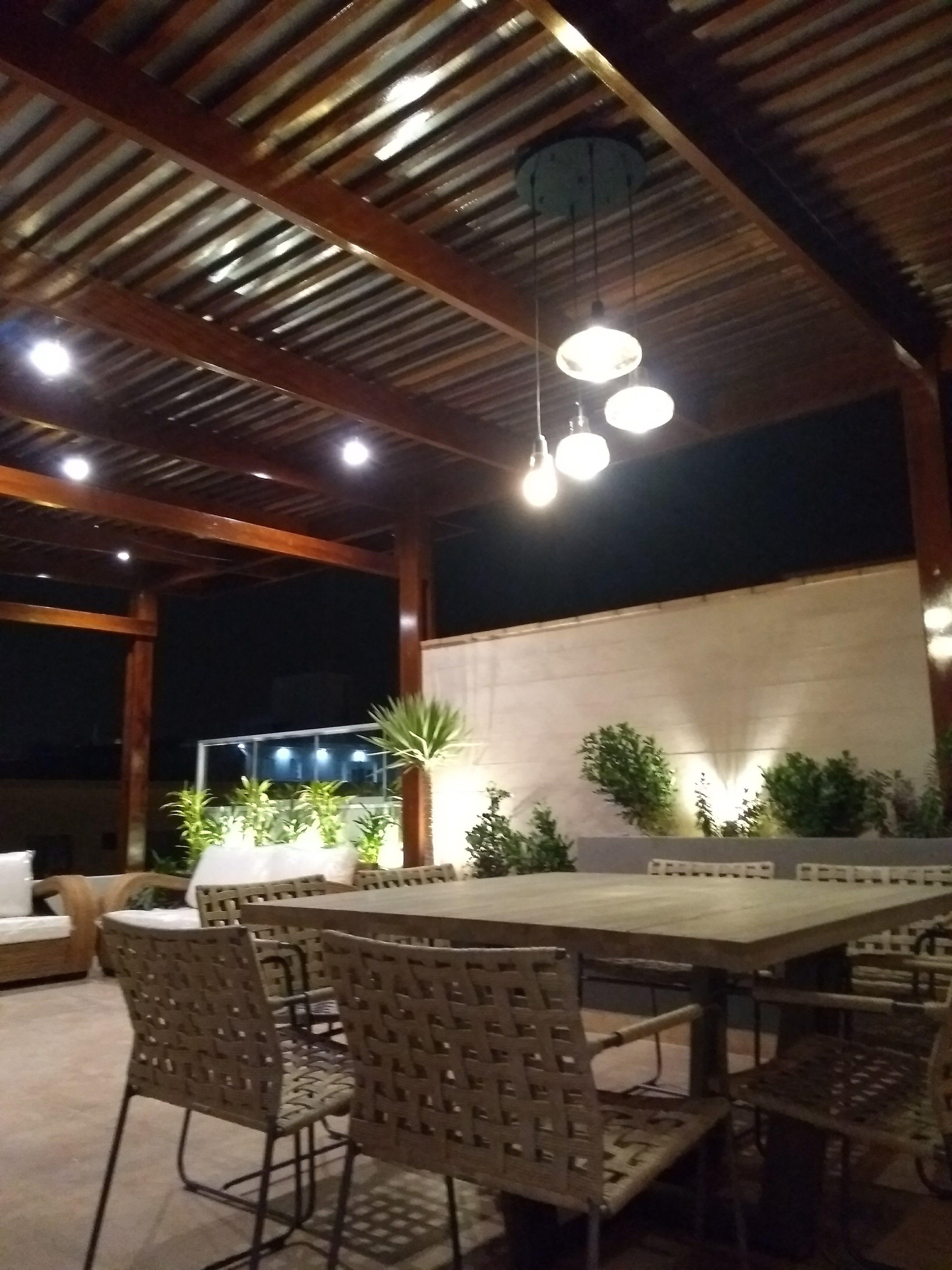 Iluminacion Terraza Pequena