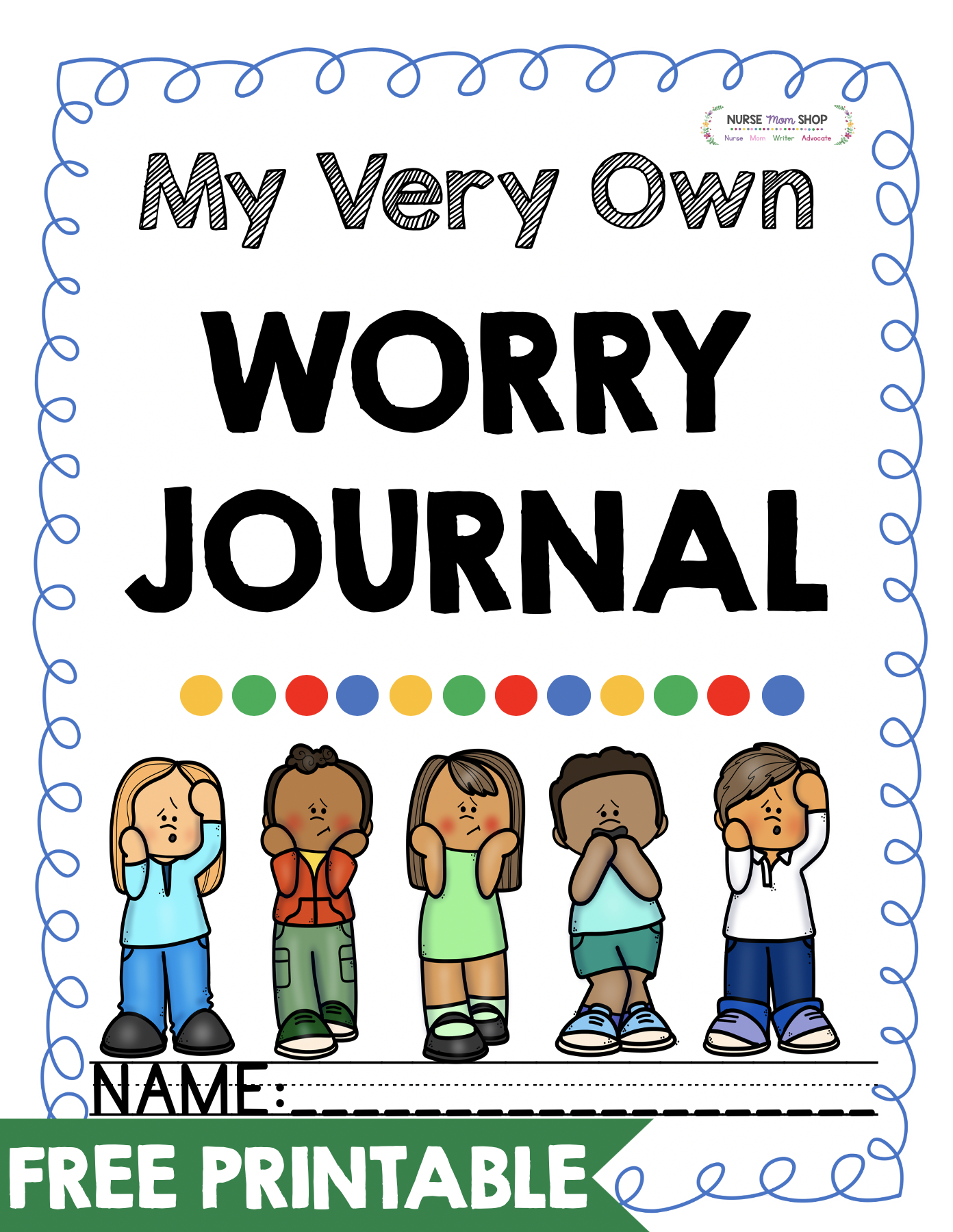 Free Worry Journal Printables In