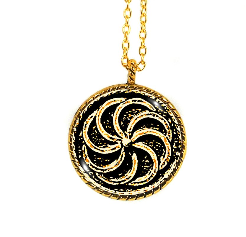 Gold Alloy Armenian Eternity Symbol Necklace Armenians Pinterest