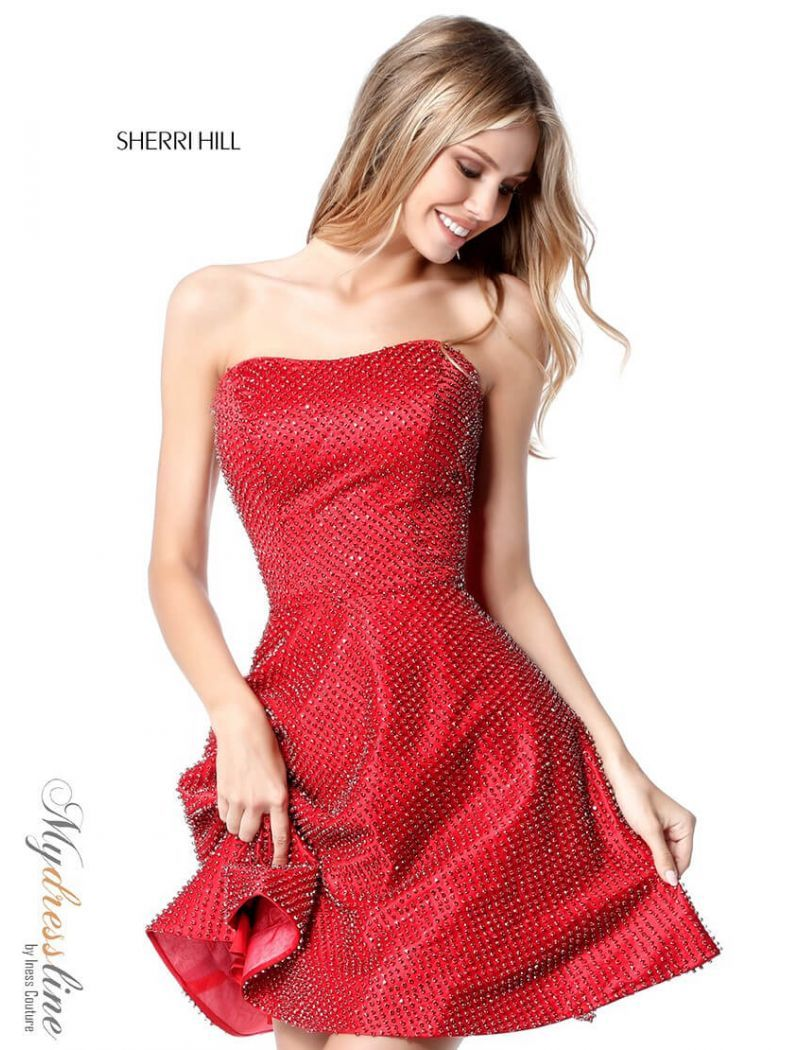 Sherri Hill 51546 Fall 2018 Collection Dress