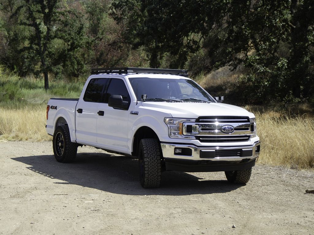 Ford F150 Crew Cab 2009 Current Slimline Ii Roof Rack Kit By