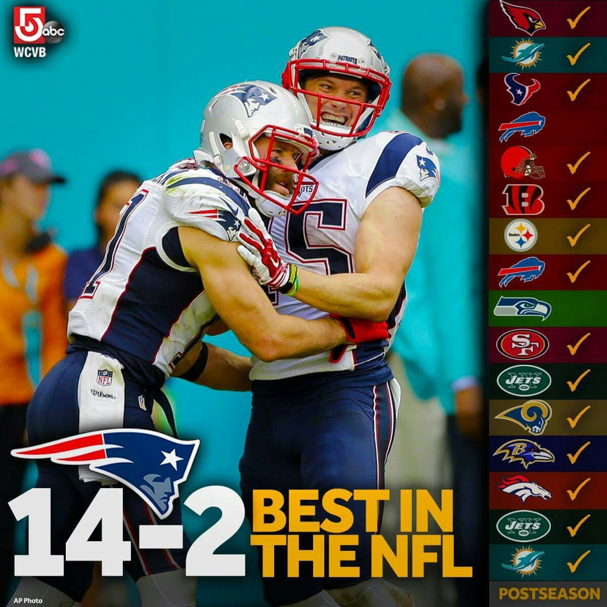 Best In The Nfl The Patriots Finish The Nfl Regular Season With A 14 2 Record The Best Of An New England Patriots Merchandise New England Patriots Patriots