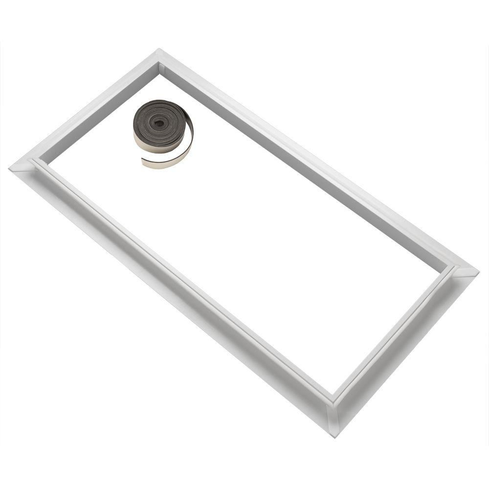 Velux 2234 Accessory Tray For Installation Of Blinds In Fcm 2234 Skylights Zzz 199 2234 The Home Depot In 2020 Skylight Accessories Velux Velux Skylight Blinds