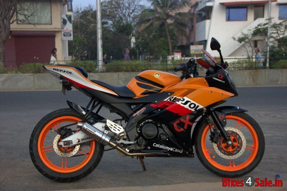 Modified Yamaha Yzf R15 V2 With Images R15 Yamaha R15 Yamaha