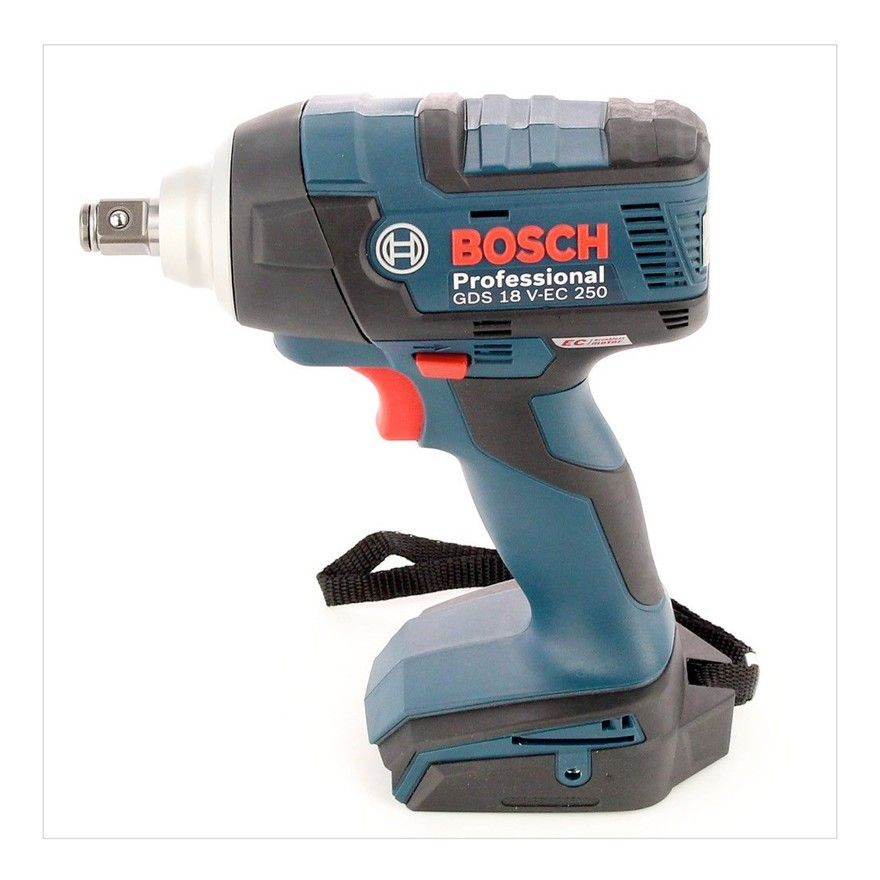 Bosch Gds18vec 250nm Impact Wrench In L Boxx 2x 5ah