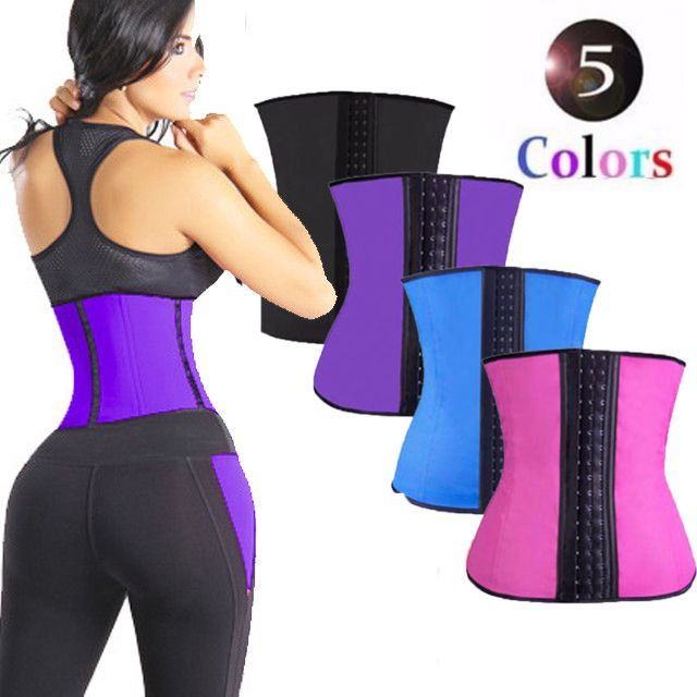 9106d43411141 Wholesale Private Label Latex Waist Trainer Plus Size Slim Body Shaper  Girdles Corsets