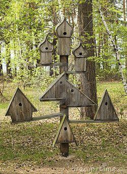 Bird house by Ruslanchik on Dreamstime