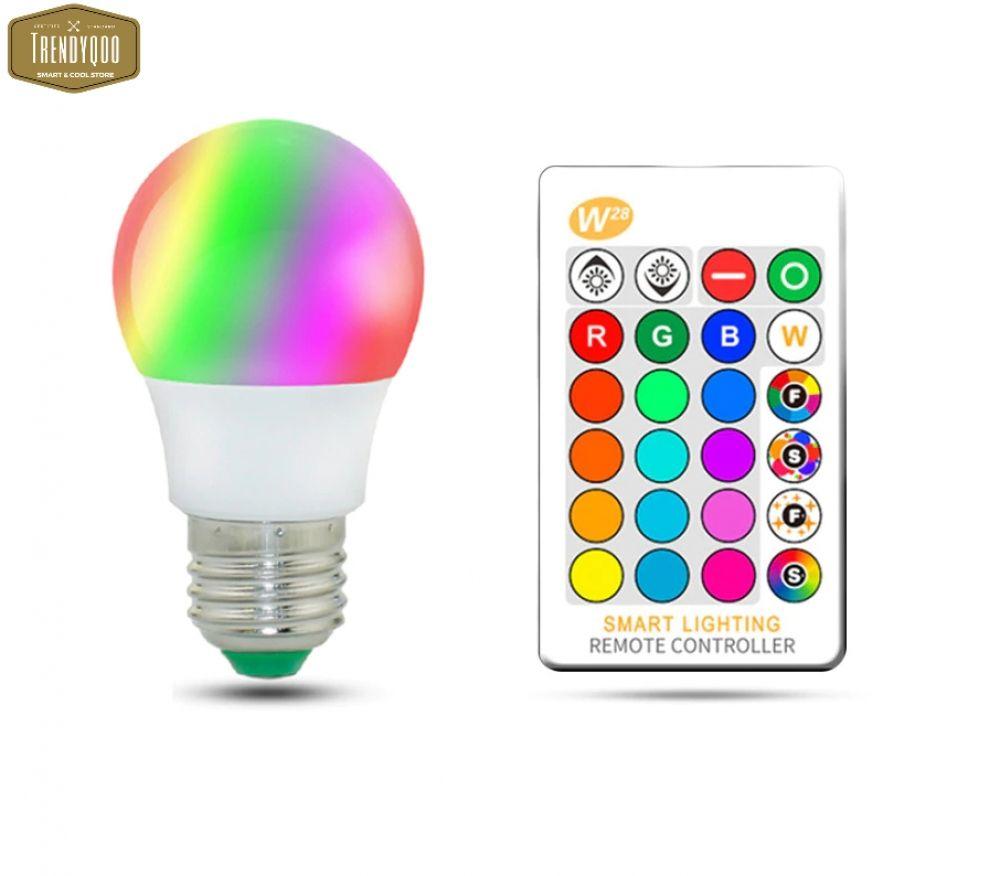 Magic Rgb Led Light Bulb Ac85 265v Smart Lighting Lamp Color