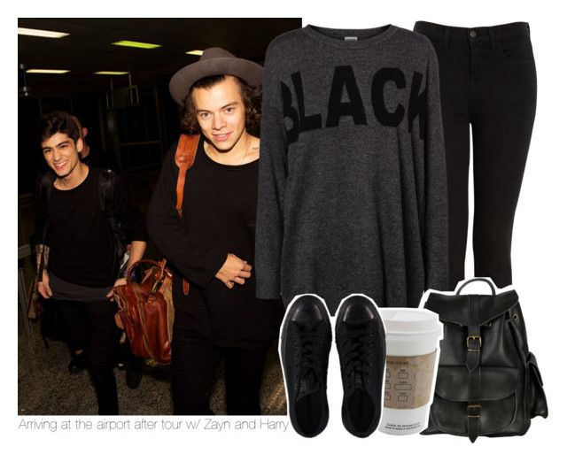 """Arriving at the airport after tour w/ Zayn and Harry"" by stylistdirectioner ❤ liked on Polyvore"