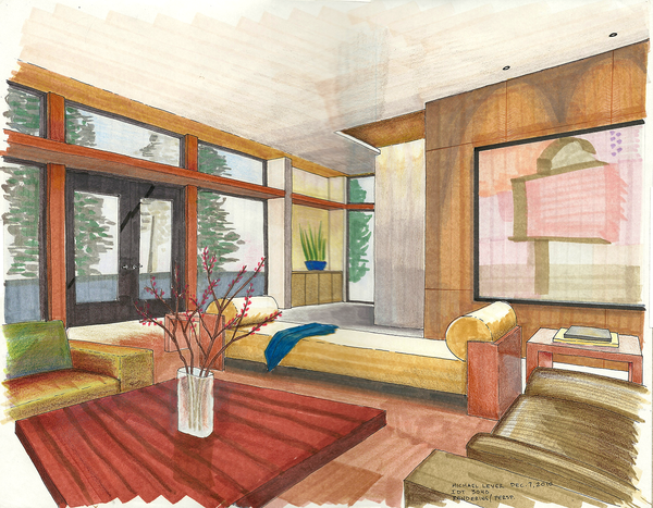 Prismacolor Marker Rendering Techniques Google Search Interior Design Drawings Interior Design Sketches Architecture Rendering Techniques