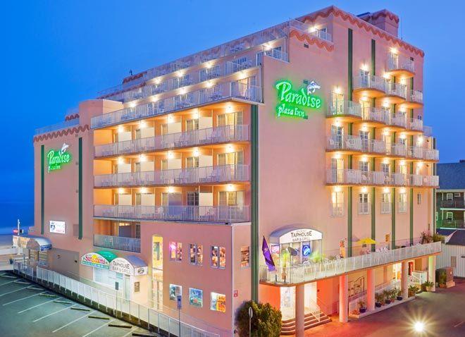 Paradise Plaza Inn Hotel Ocean City Maryland Ocean City Hotels Ocean City Maryland Hotels Ocean City