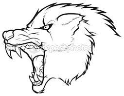 Bildergebnis Fur Wolf Wolf Face Drawing Angry Wolf Wolf Drawing