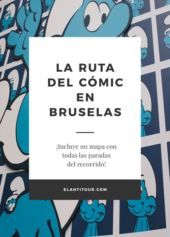 La Ruta Del Cómic En Bruselas Bruselas Cómic Guia De Viaje