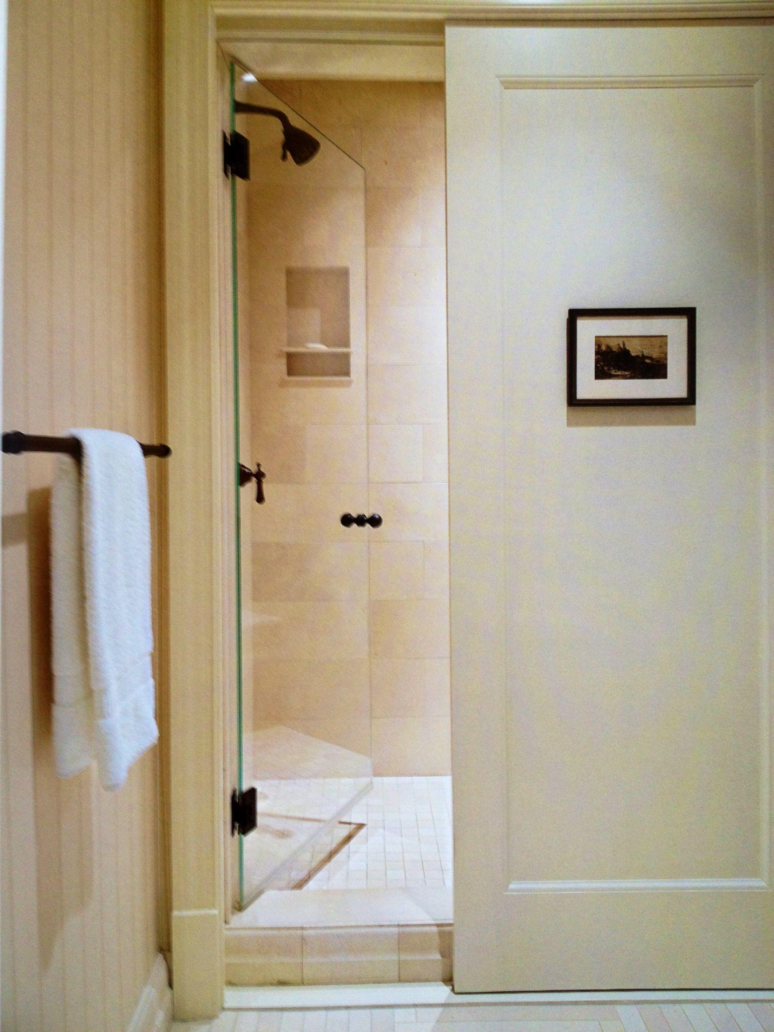 Franck Lohsen Architects Partridge Lane Residence Hidden Shower