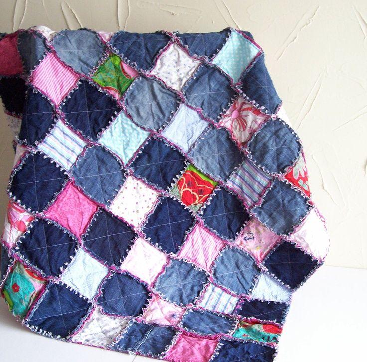 Free Rag Quilt Patterns Denim Rag Quilt Tutorial Pdf Pattern