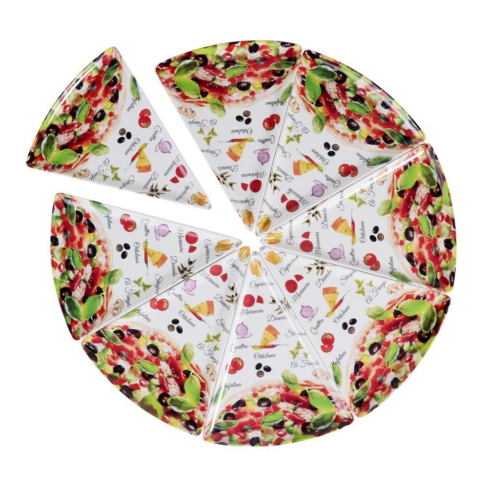 Buy DINEWELL PIZZA SLICE PLATE (Set of 8) Online at Low Prices in India  sc 1 st  Pinterest & Buy DINEWELL PIZZA SLICE PLATE (Set of 8) Online at Low Prices in ...