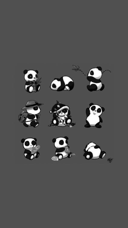 Large Png 423 750 Arte De Panda Tatuagem De Panda Planos De Fundo