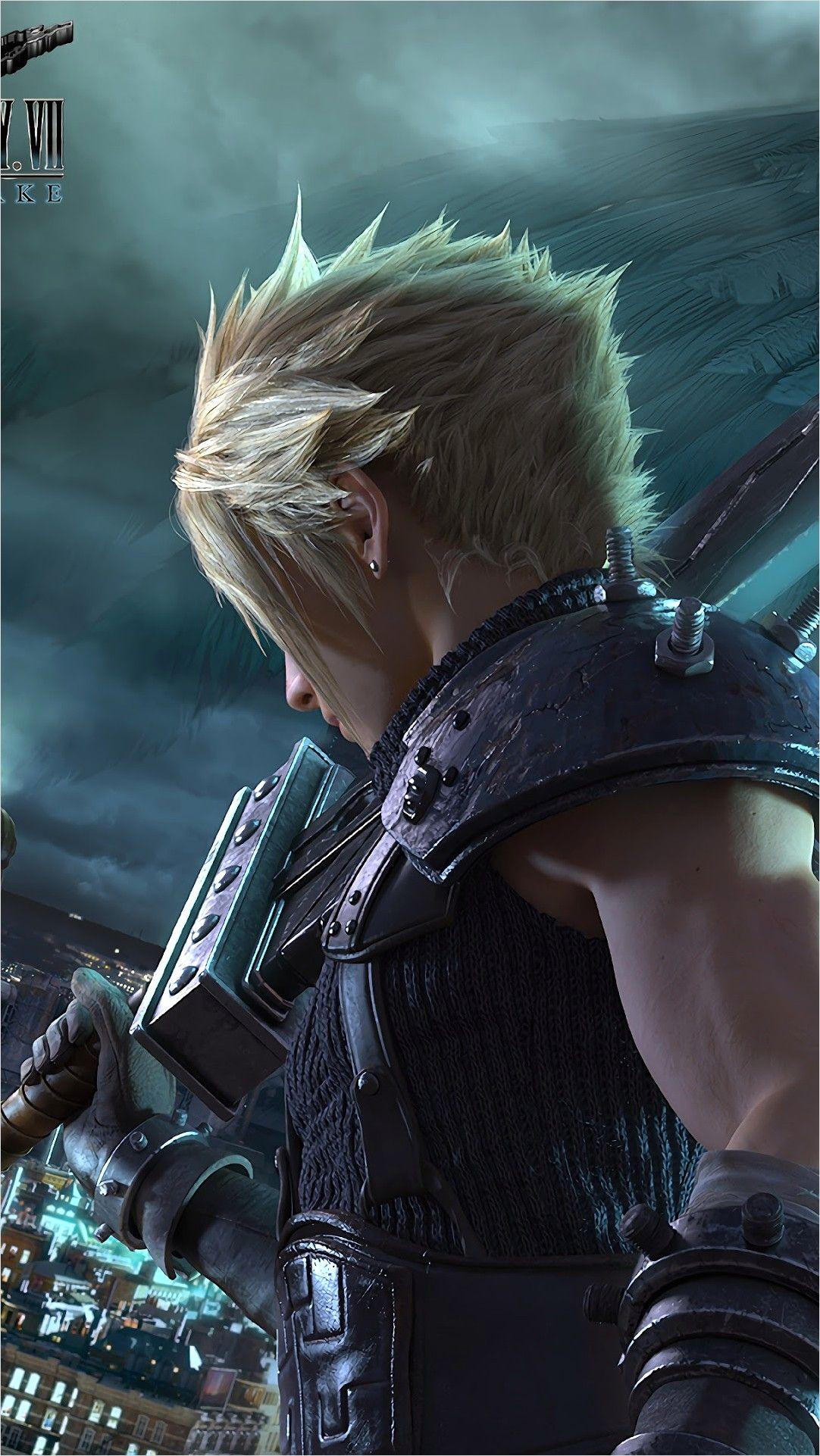 4k Final Fantasy 7 Wallpaper In 2020 Final Fantasy Cloud Final Fantasy Vii Cloud Noctis Final Fantasy