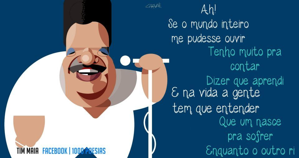 Azul Da Cor Do Mar Tim Maia Frases De Musicas Musicas Trechos