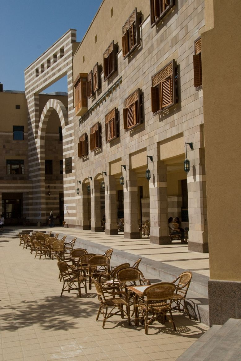 American University New Campus Cairo Egypt Islamic Architecture Modern Egypt Architecture Project