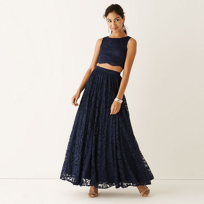 Our two-piece prom tank top and full skirt will pull all eyes to ...