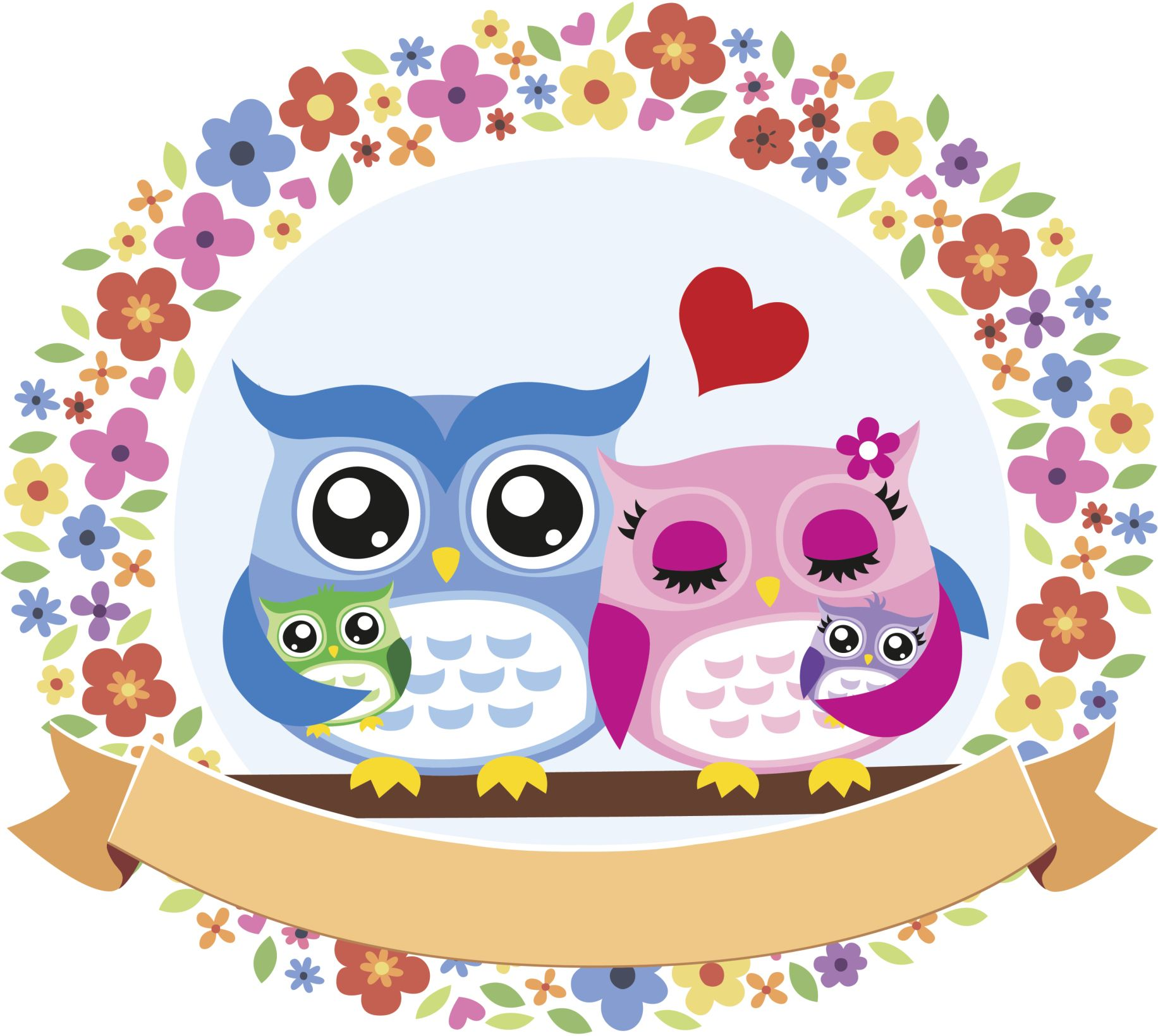 Baby Shower Tematico De Buhos Buho Dibujo