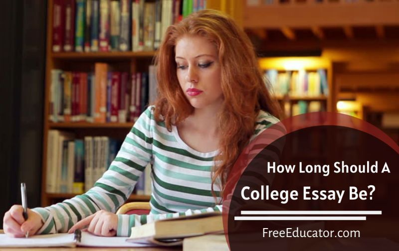 How Long Should A College Essay Be? in 2020 College