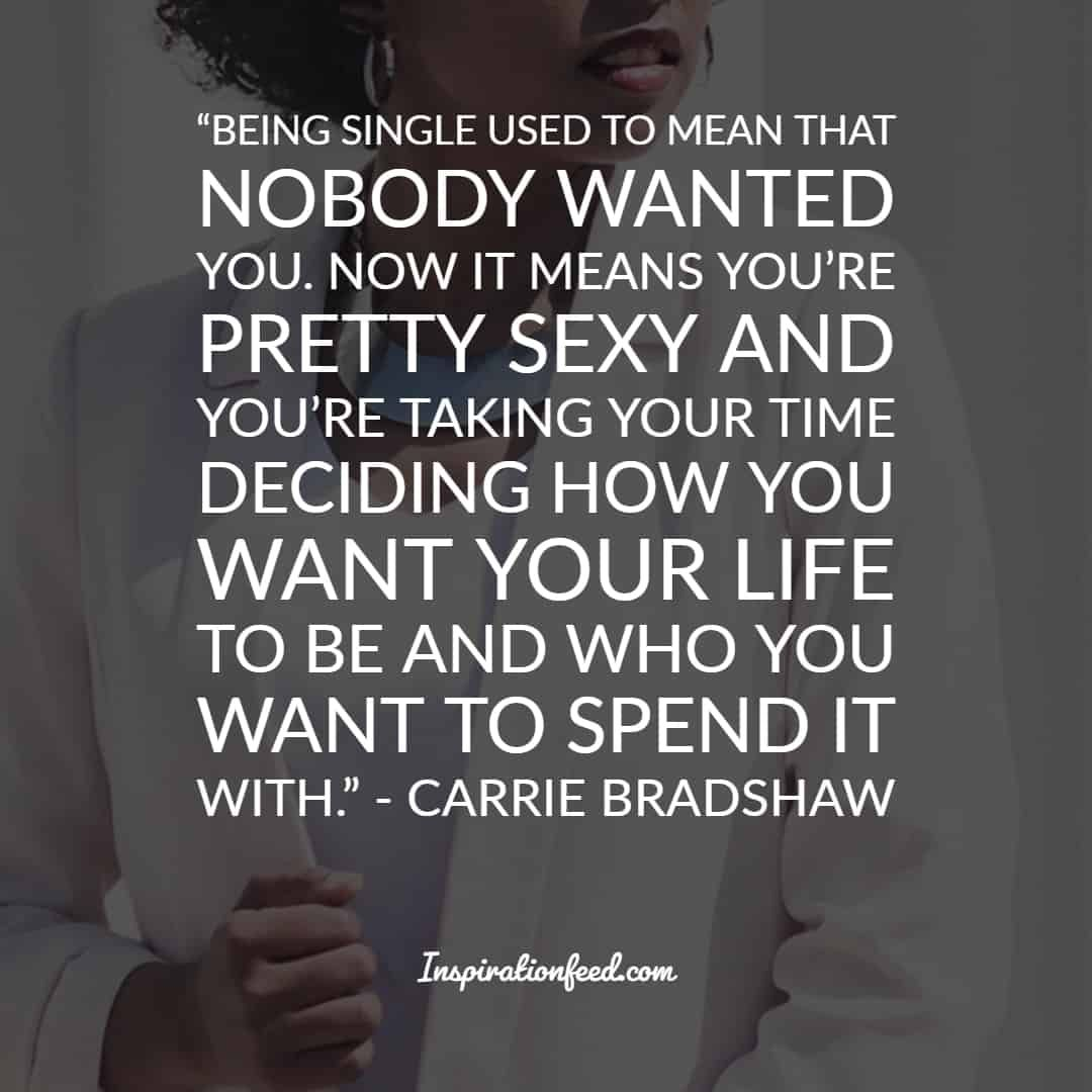25 Best Carrie Bradshaw Quotes on Love and Relationships