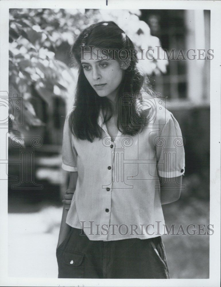 "1983 Press Photo Helen Slater in ""Amy & the Angel"""