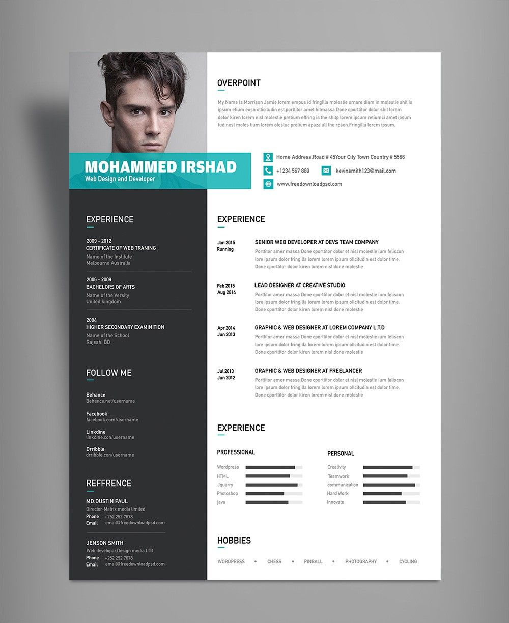Resume Template Logo How I Successfuly Organized My Very