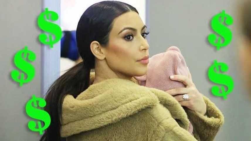 PHOTOS Kim Kardashian: sa première sortie publique depuis la naissance de Saint - Voici