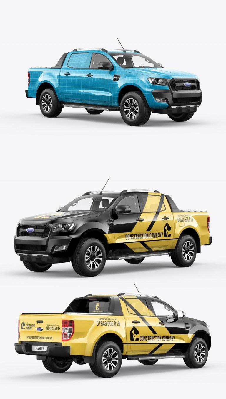 Ranger Pickup Truck Mockup Pickup Trucks Ford Ranger Pickup Trucks