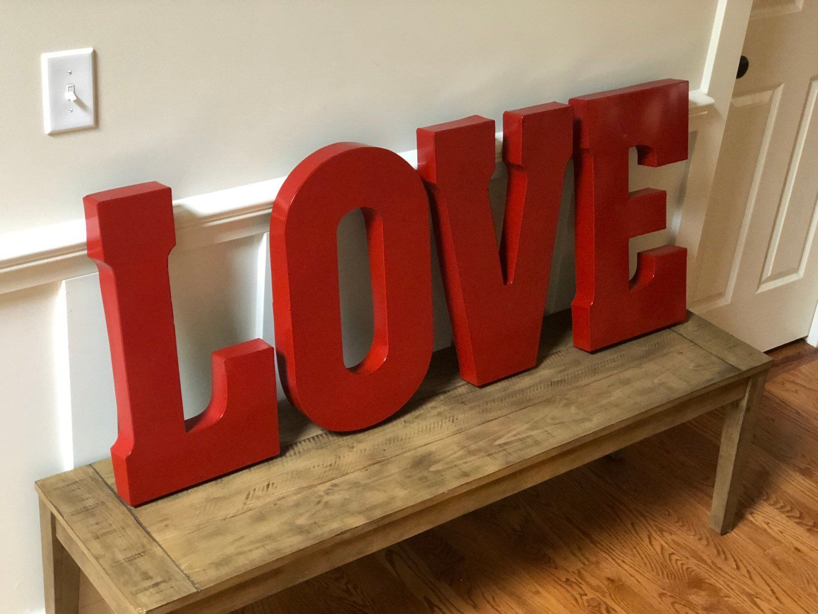 Extra Large Metal Letters Sign Letters Pick Color Galvanized