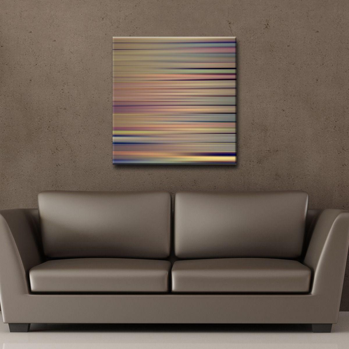 hussen fur sofa blau, ready2hangart 'blur stripes viii' canvas wall art | hussain, Design ideen