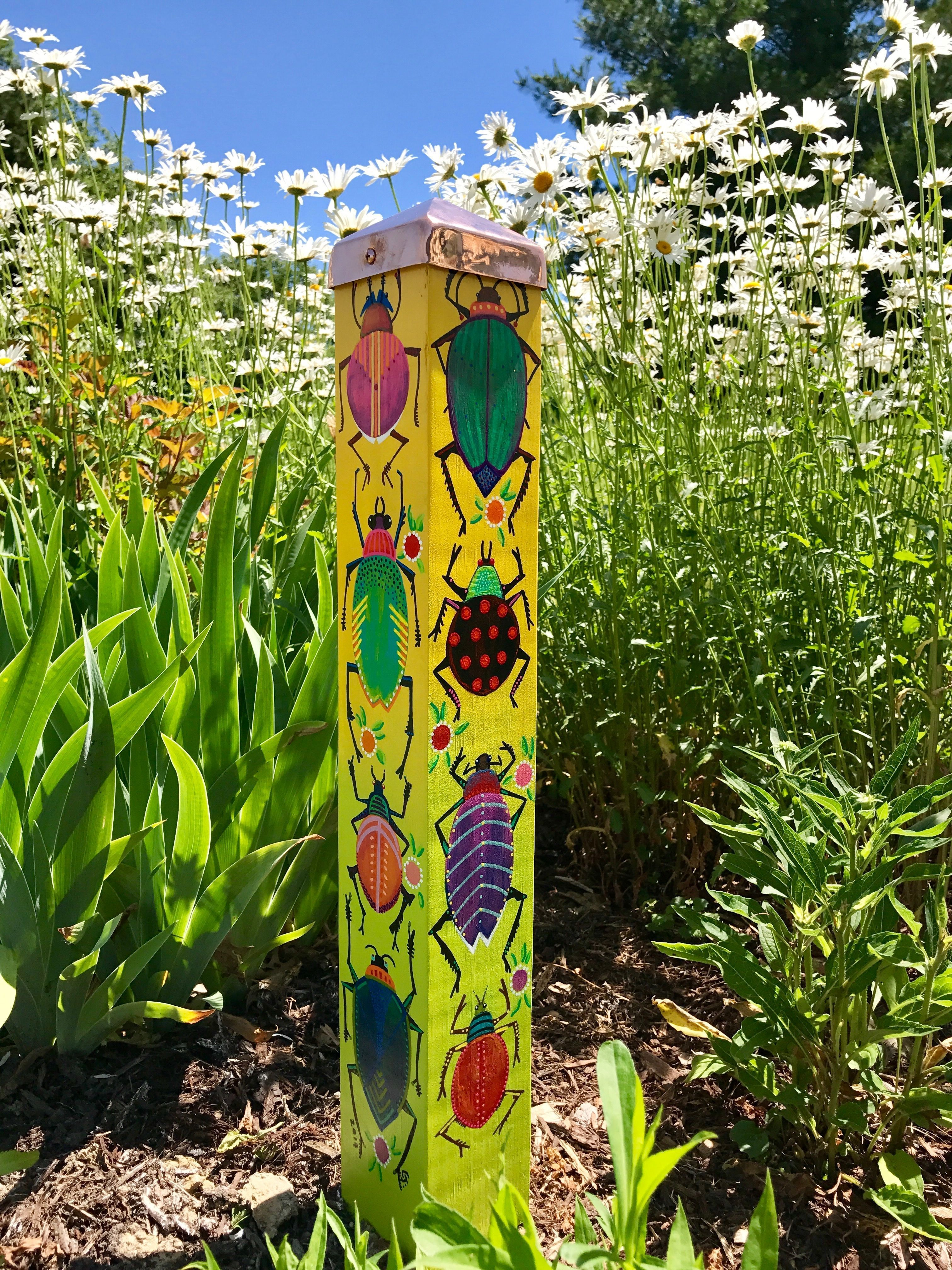 Beautiful Garden Poles Ideas 90 | planters and pots and the ...