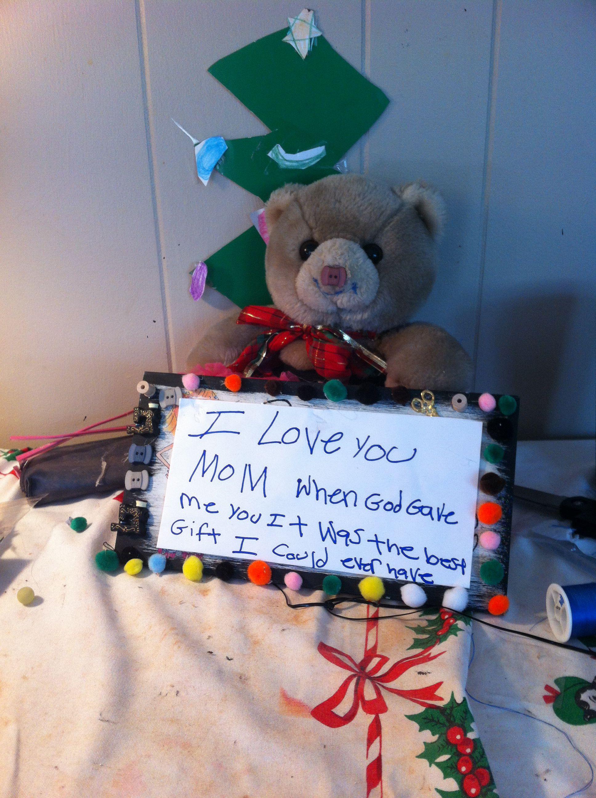 Mom or child hommade gift