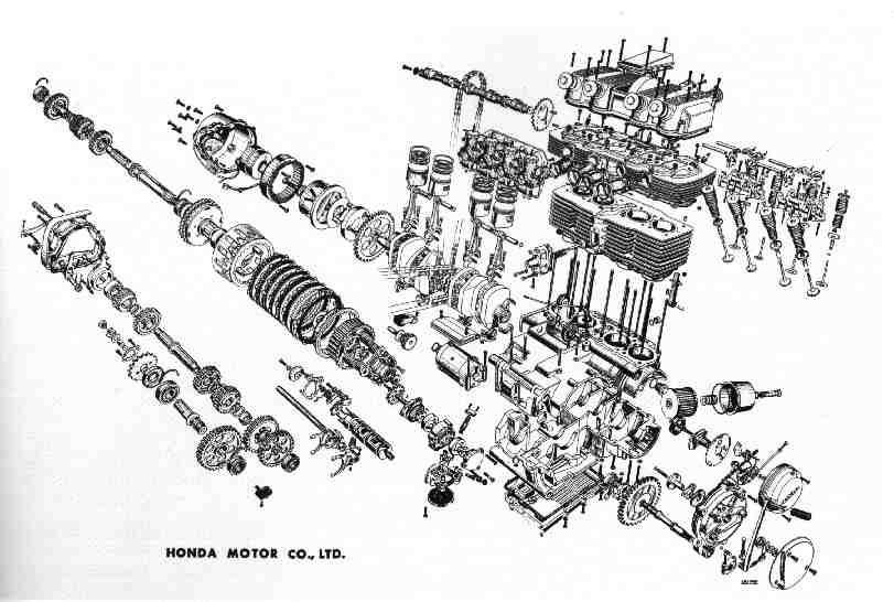 7f1d53582c80e5fc8bd03dc8b28515e6 exploded axo a beautiful chaos the_machine pinterest cb750 engine diagram at alyssarenee.co