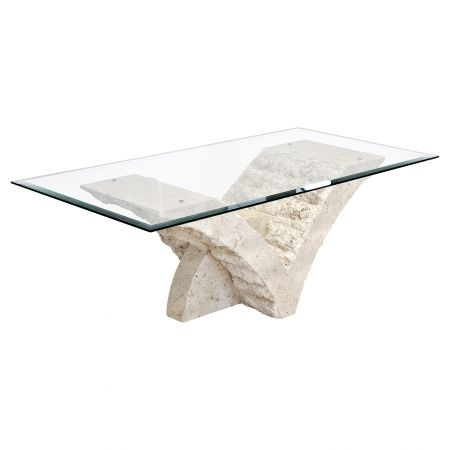 Mactan Stone Glass Top Coffee Table Happy Home Interiors Stone Coffee Table Contemporary Coffee Table Top Furniture