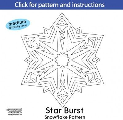 Snowflake Patterns From Angelstreetmom Ranging From