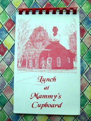 Natchez Mississippi Cookbook Lunch At Mammys Cupboard Cookbooks