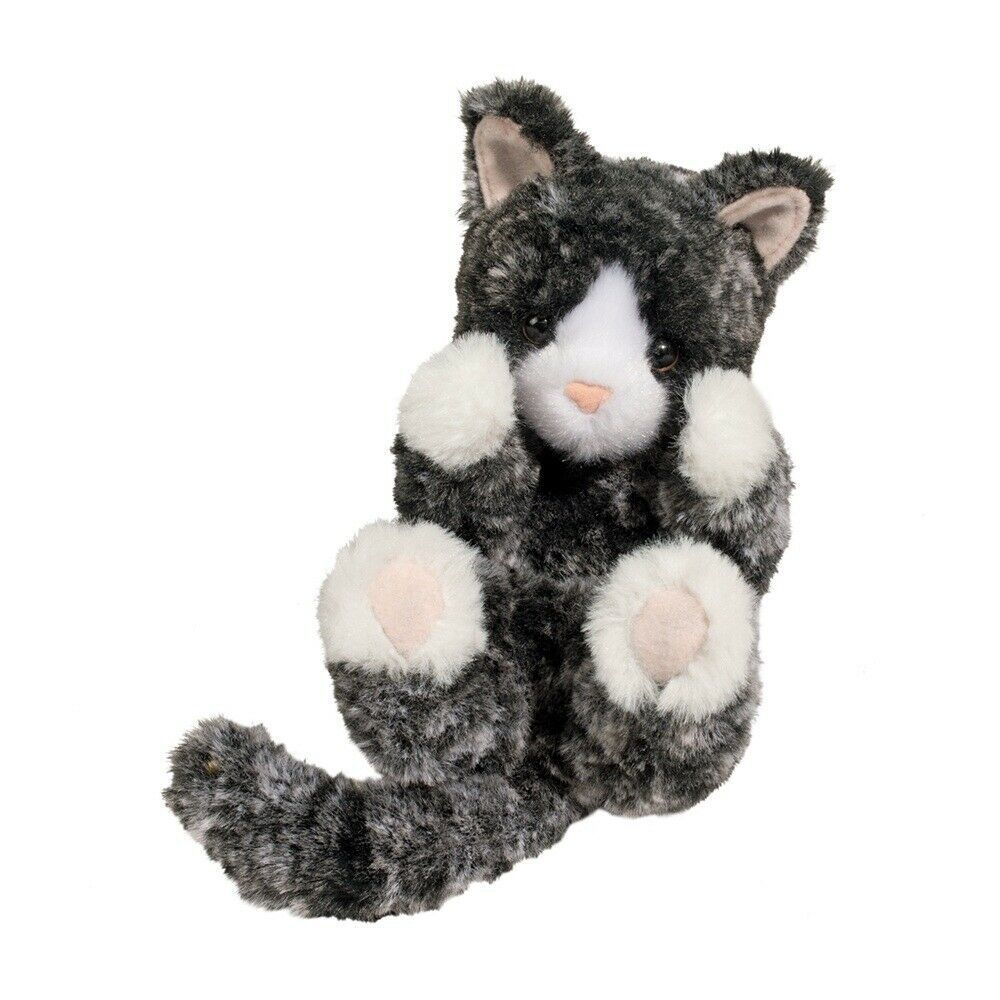 Plush Blk Wht Kitten Lil Handful Stuffed Animal Douglas Cuddle Toys 14477 767548144770 Ebay In 2020 Black And White Kittens White Kittens Grey Kitten