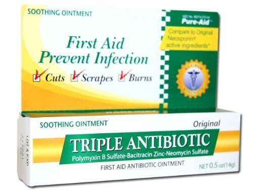Triple Antibiotic Ointment 1/2 Oz Tube by Superior Tattoo