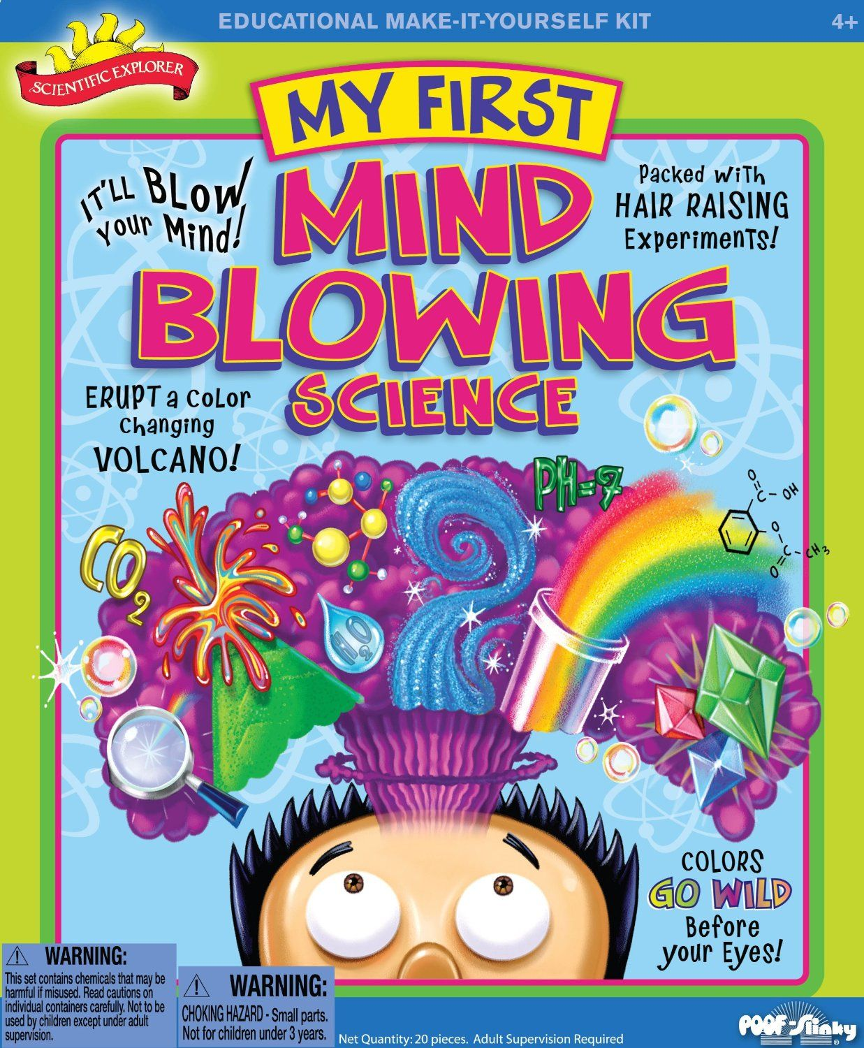 Weird Science My First Science Experiment Kit