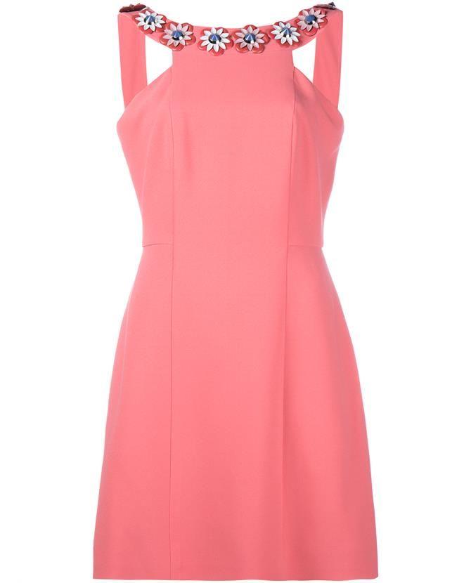 Photo of FENDI Embroidered Sleeveless Dress. #fendi #cloth #